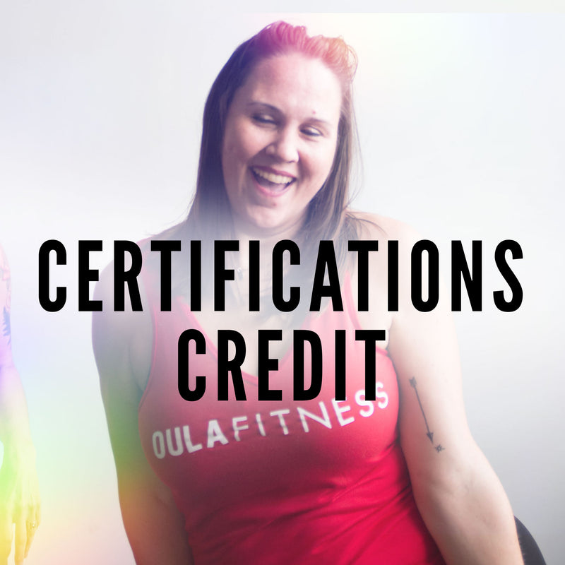 Certifications Credit