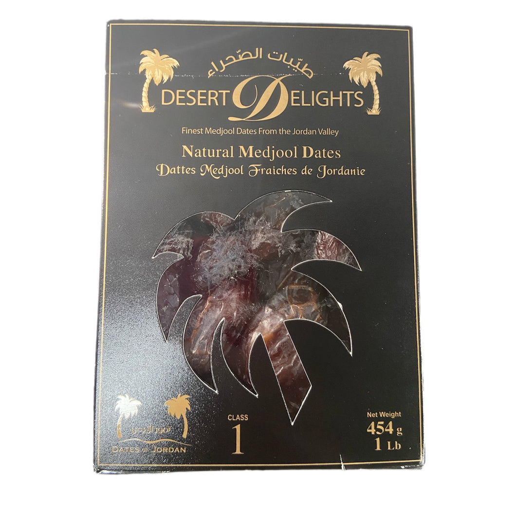 Dates - Natural Medjool Dates 454grams (1Lb)