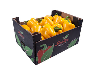 Peppers Yellow 5KG Box