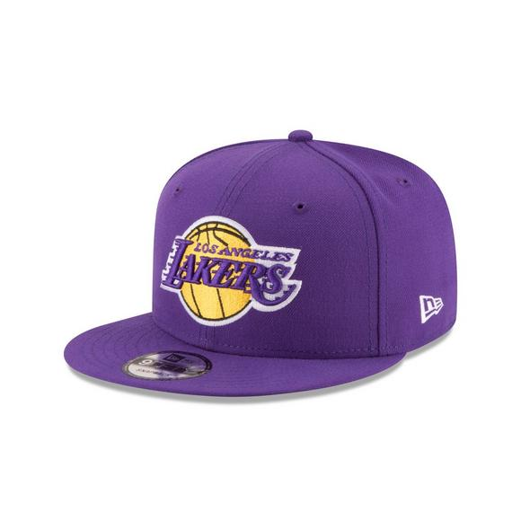 LOS ANGELES LAKERS TEAM COLOR 9FIFTY SNAPBACK PURPLE