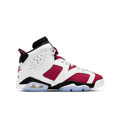 "Jordan 6 Retro ""Carmine"" Grade School Kids' Shoe"