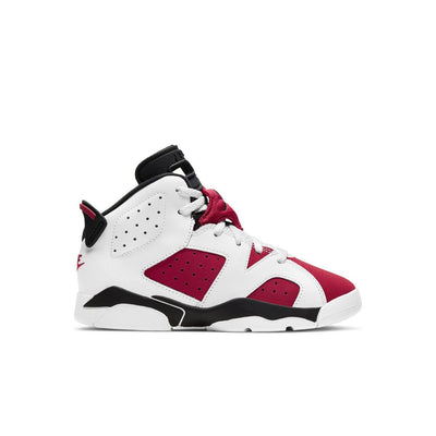 "Jordan 6 Retro ""Carmine"" Preschool Kids' Shoe"