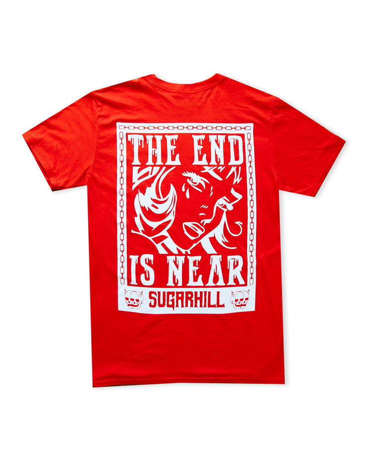 Scared Red Tee