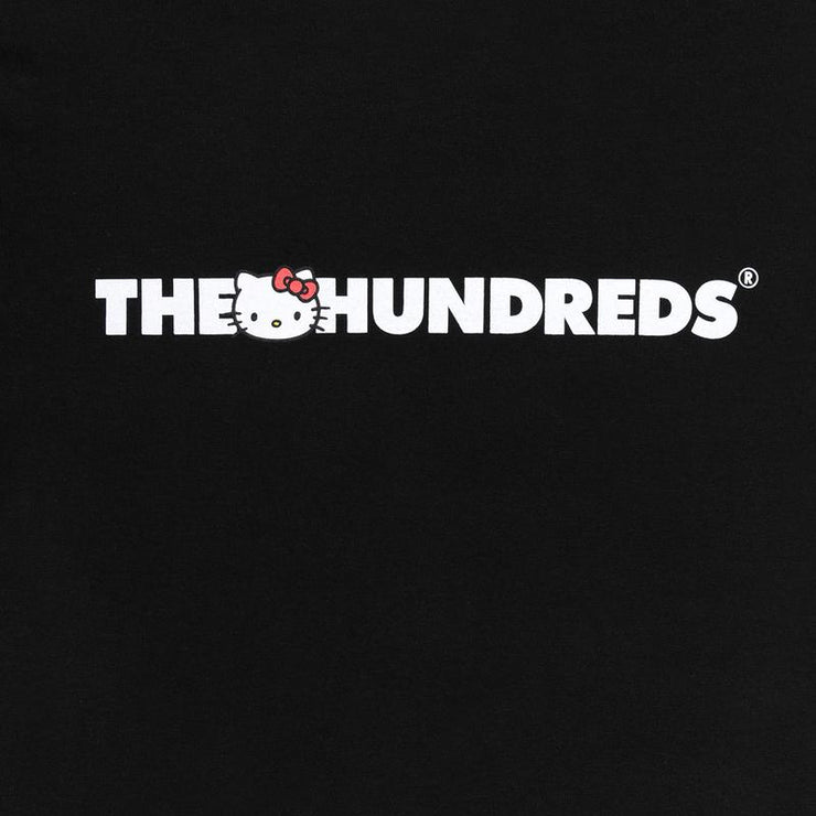 The Hundreds x Sanrio Logo T-Shirt Black