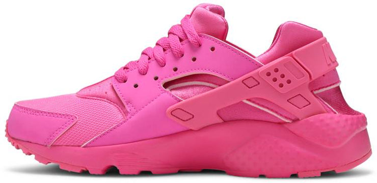 "Nike Huarache Run ""Laser Fucshia"" Grade School Girls' Shoe"