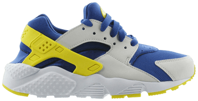 "Nike Huarache Run ""Indigo Force/Opti Yellow/Platinum"" Grade School Shoe"