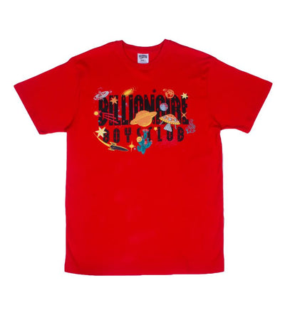 BB UNIVERSE SS TEE RED