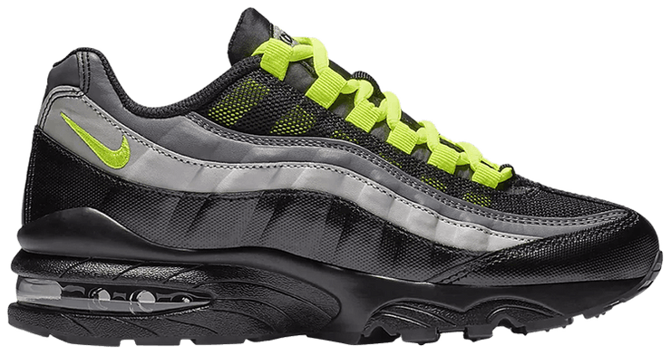 Nike Air Max 95 PS Black Volt Grey