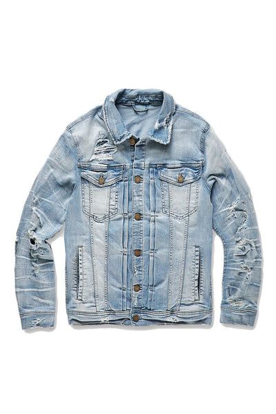 RENO DENIM TRUCKER JACKET (LIGHTNING BLUE)