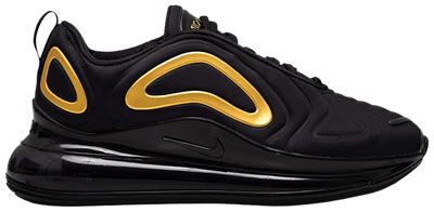 "Nike Air Max 720 ""Black/Gold"" Grade School Boys' Shoe"
