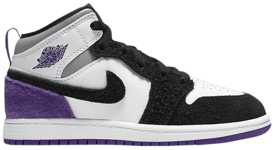 Air Jordan 1 Mid SE PS 'Varsity Purple'