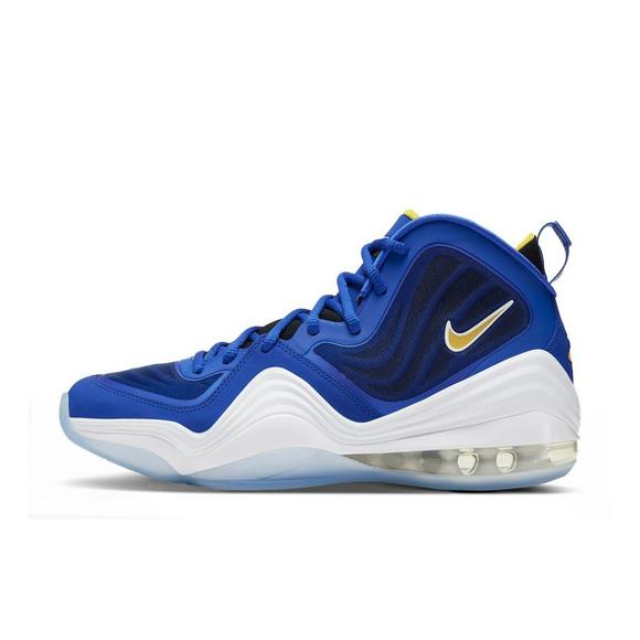 "Nike Air Penny V ""Bright Blue/Yellow Streak"" Men's Shoe"