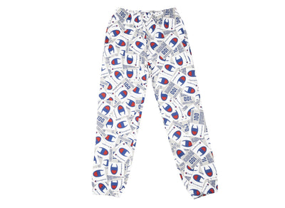 CHAMPION SUPER FLEECE 2.0 PANTS 'AOP'