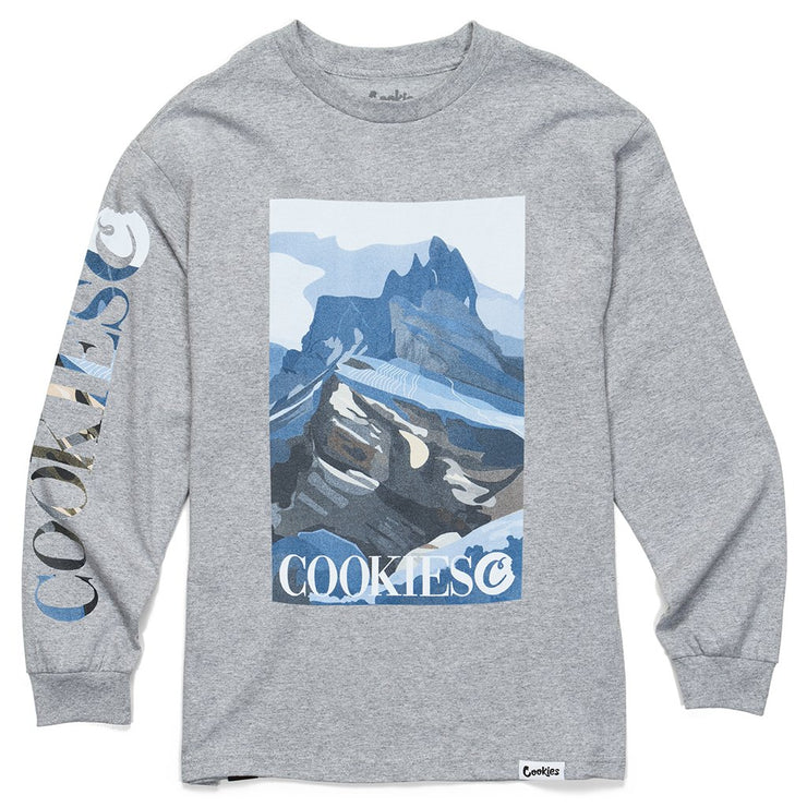 Outdoor Postcard L/S Grey
