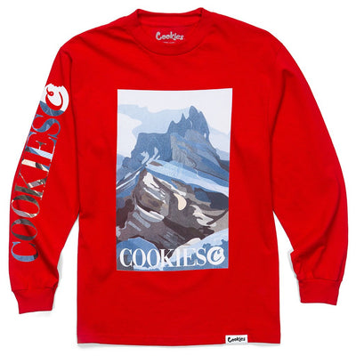 Outdoor Postcard L/S RED