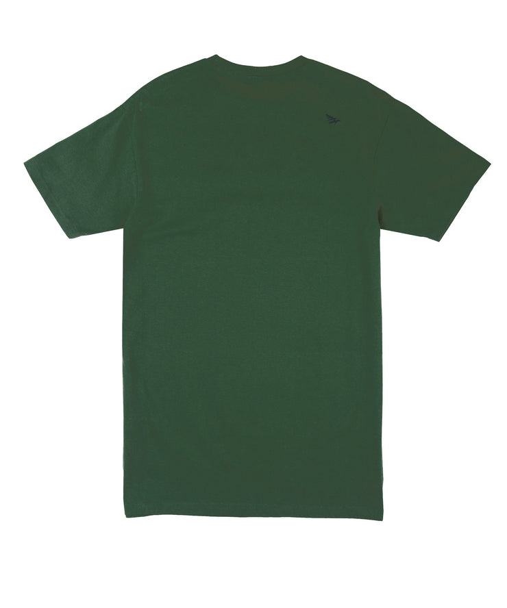Flag tee (Green/Gold)