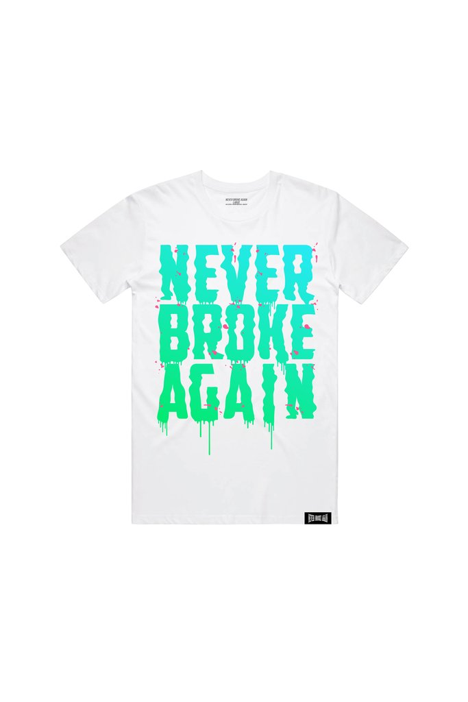 DRIPSTER T-SHIRT - WHITE