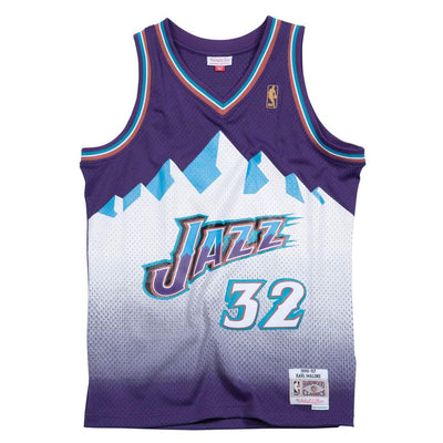 Swingman Jersey  Karl Malone Utah Jazz Road 1996-97