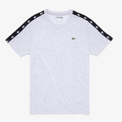 Lacoste Men's SPORT Crocodile-Stripe T-Shirt