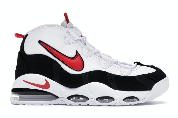 "Nike Air Max Uptempo 95 ""White/Uni Red/Black"" Men's Shoes"
