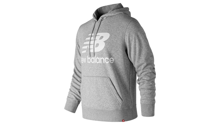 New Balance Essentials Stacked Logo Pullover Hoodie