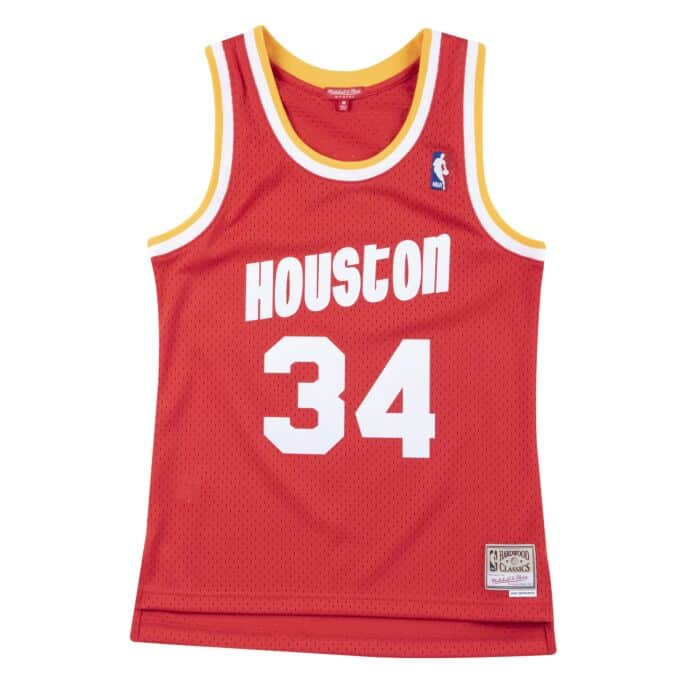 Swingman Jersey Houston Rockets 1993-94 Hakeem Olajuwon