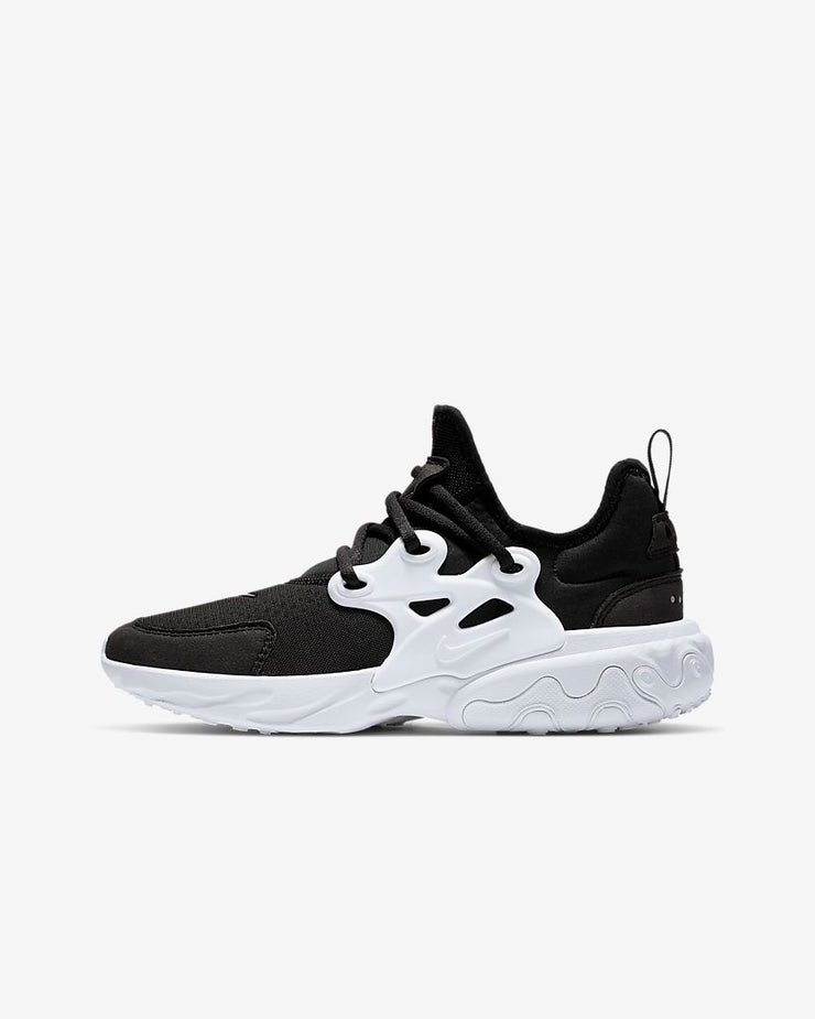Nike React Presto Black White (GS)