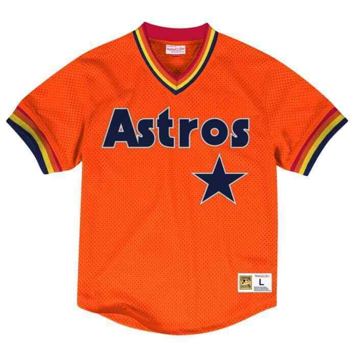 Mitchell & Ness Astros Jersey