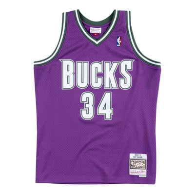 Swingman Jersey Milwaukee Bucks Road 2000-01 Ray Allen