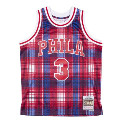 Private School Swingman Jersey Philadelphia 76ers 1997-98 Allen Iverson