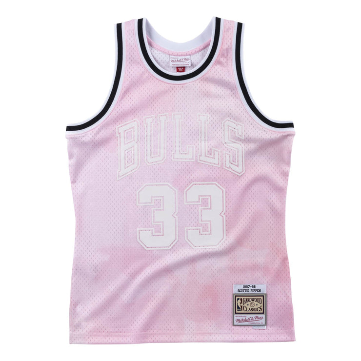Cloudy Skies Swingman Jersey Chicago Bulls 1997-98 Scottie Pippen