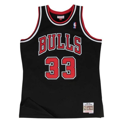 Swingman Jersey Chicago Bulls Alternate 1997-98 Scottie Pippen