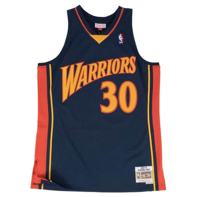 Swingman Jersey Golden State Warriors Road 2009-10 Stephen Curry