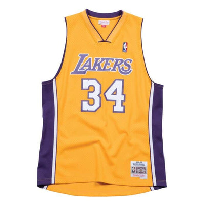 Swingman Jersey Los Angeles Lakers Home 1999-00 Shaquille O'Neal