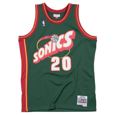 Swingman Jersey Seattle SuperSonics Road 1995-96 Gary Payton