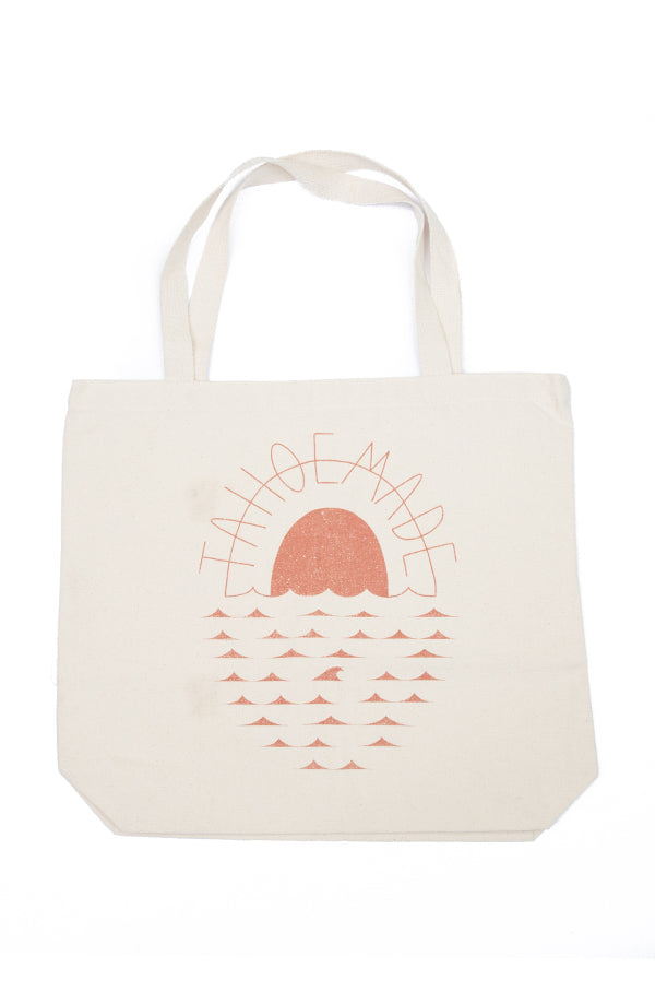 Organic Cotton Printed Tote