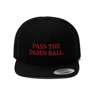Pass The Damn Ball Snapback Hat | Georgia Football