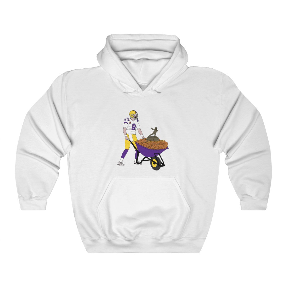 Wheelburrow For Heinzman Hoodie | Tigers Football