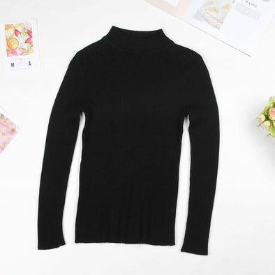 Women Turtleneck Sweater Pullover Winter