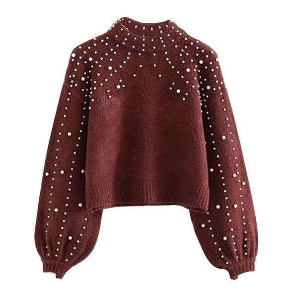 Women Knitted Sweaters Fashion Casual