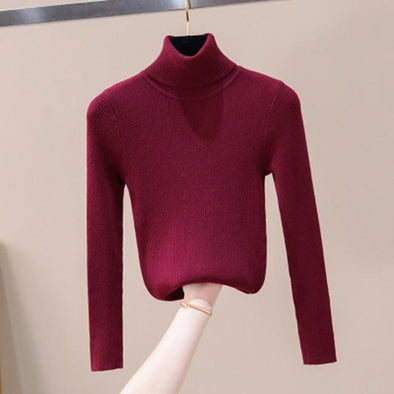 Autumn Winter Women Knitted Sweater