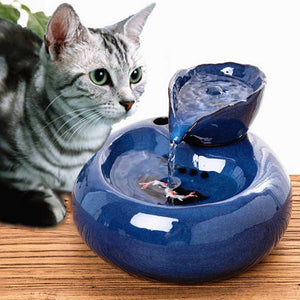 Cat Dog Automatic Circulation Water Dispenser Fountain