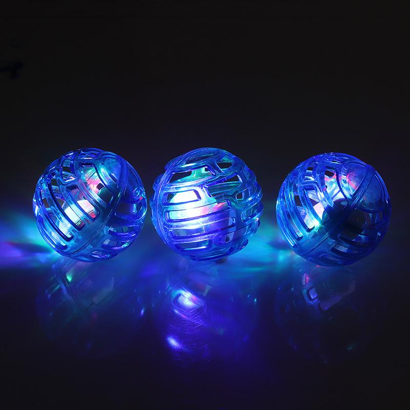 3pcs/set Cat Dog Light Electronic Rolling Ball