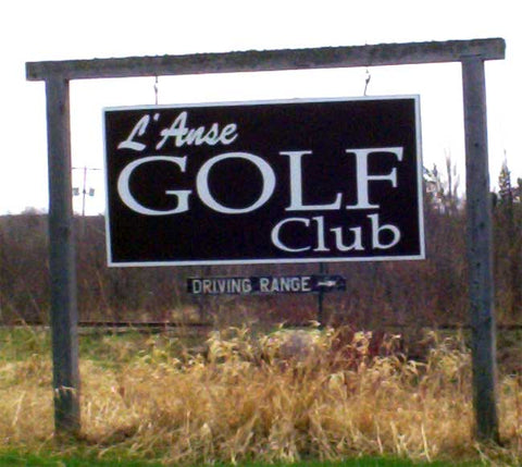L'Anse Golf Club - 1 person 9 Holes of Golf w/o Cart