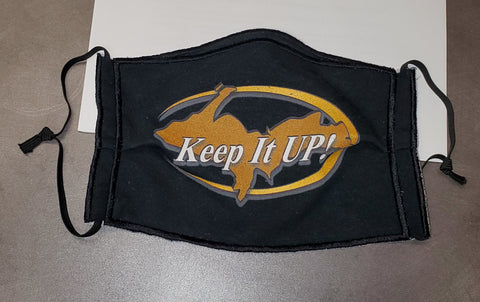 """Keep It UP"" Mask"