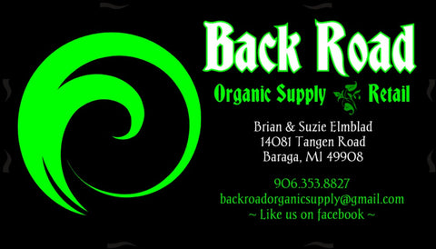 Back Road Organic Supply Retail - $20.00 Certificate