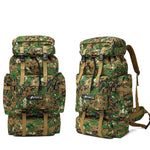 Tactical Mountaineering Backpack - 70L