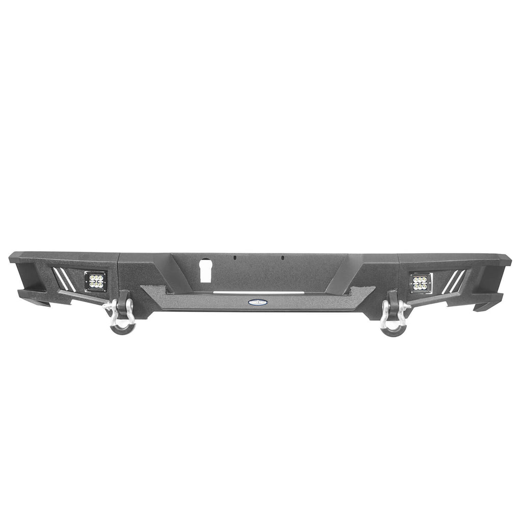 Front Bumper & Rear Bumper(13-18 Dodge Ram 1500,Excluding Rebel)