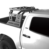 Full Width Front Bumper & Rear Bumper & Roll Bar Bed Rack(14-21 Toyota Tundra)