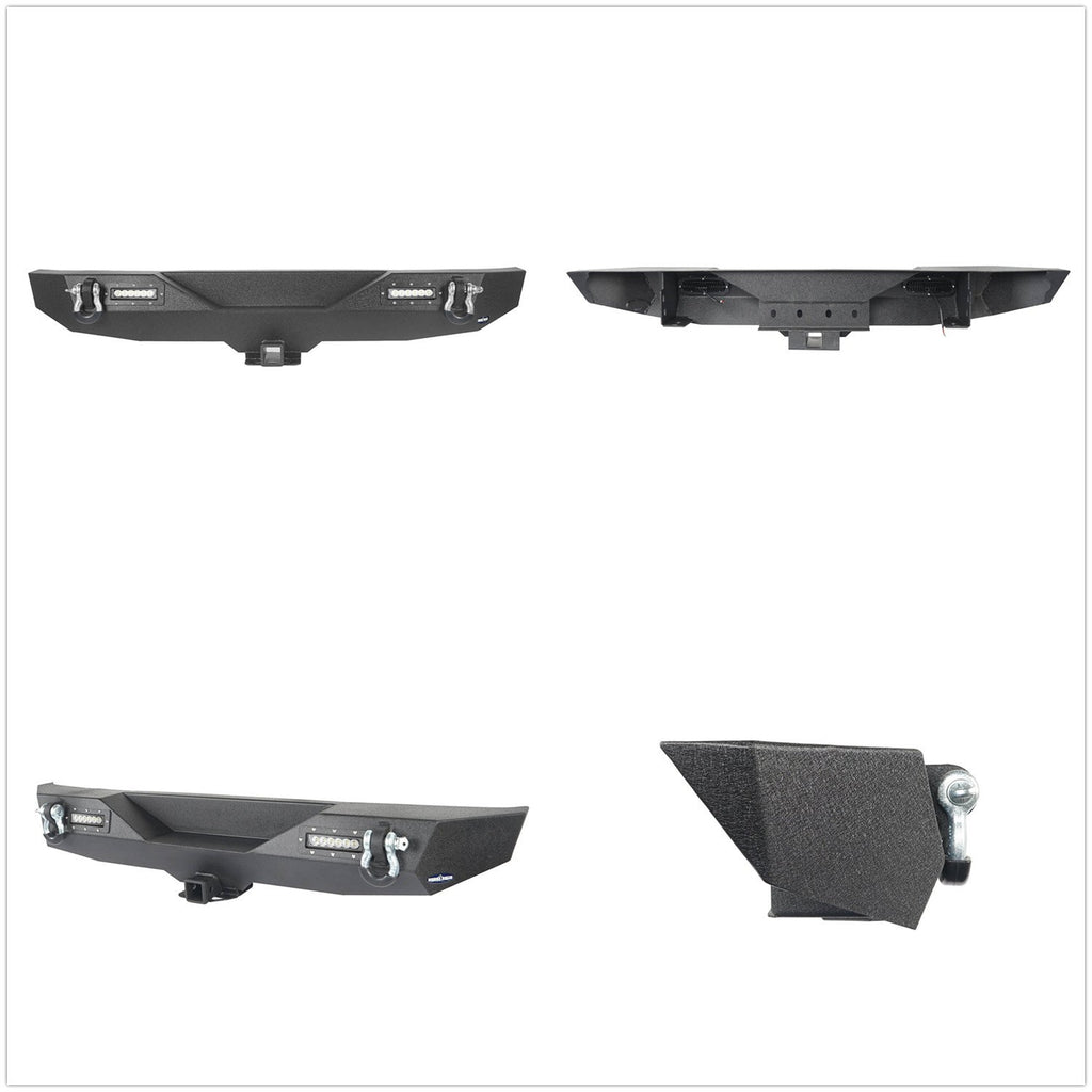Front Bumper / Rear Bumper / Running Boards Side Steps(18-21 Jeep Wrangler JL)